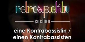 Kontrabassist gesucht in Berlin